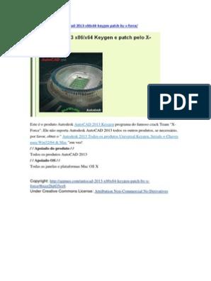 xforce keygen autocad 2013 64 bit free download windows 8.1