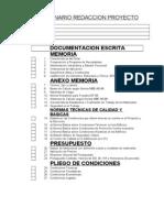 Cuestionario redacción de proyecto