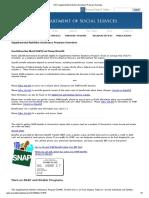 DSS_ Supplemental Nutrition Assistance Program Overview