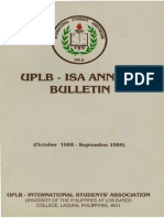 International Students Association Bulletin Philipine Alsharjabi