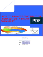 How to Promote Contribution, Connection PDF