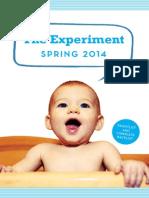 The Experiment Spring 2014 Catalog