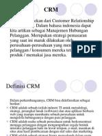 Apa Yang dimaksud dengan CRM.ppt