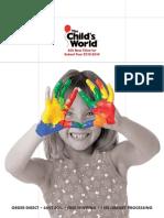 The Child's World, Spring 2014 Catalog