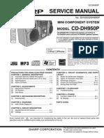 Sharp CD Dh950p