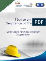 Caderno - Legislação Aplicada à Saúde Ocupacional