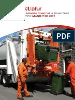 Labour Council Manifesto 2012