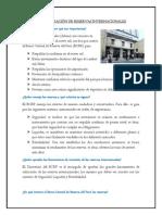 ADMINISTRACIÓN DE RESERVAS INTERNACIONALES
