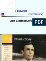 Unit 1- market leader elementary