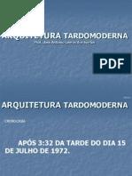 ARQUITETURA TARDOMODERNA