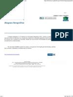 Alagoas Geográfico _ Alagoas em Dados e Informações