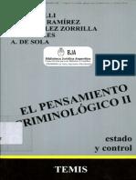 Roberto Bergalli. El pensamiento criminológico II