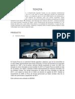 Segmentacion Toyota Prius Trabajo