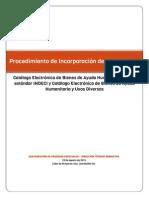 Incorporación de Proveedores al Convenio Marco de Bienes de Ayuda Humanitaria – Procedimiento