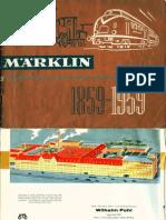 Maerklin Katalog Modelleisenbahn 1959