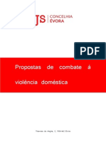 Propostas para combate à violência doméstica