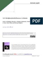 N,N-Bis(diphenylmethyl)benzene-1,4-diamine