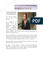 Nuestra dignidad no tiene precio, boletín 3 de enero de 2014