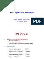 RAC Workplan Jan2005