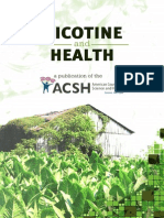 Nicotine and Health