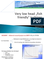 Fish Friendly Turbines [YRC 2013]