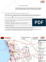 Angola Interactive Infrastructure Atlas