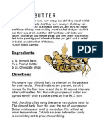 Recipe Page - Tiger Butter