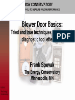 179685007 Blower Door Basics PDF