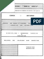 MOLDES DE INJEÇÃO COM GAVETAS - SENAI MARIO AMATO