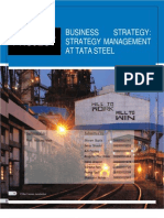 Company Analysis of Tata Steel (Bs Assignment)