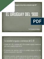 EL URUGUAY DEL '900