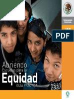 53590299 Abriendo Escuelas Para La Equidad Guia Practica
