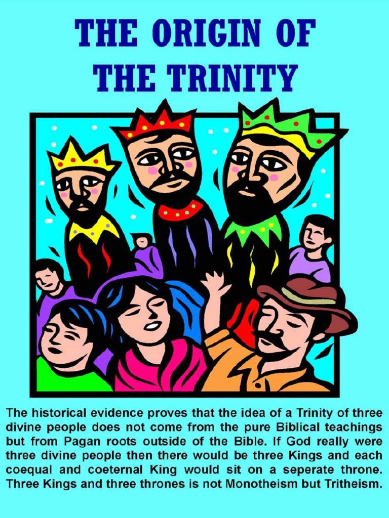 The Origin of the Trinity   Trinity   Paganism