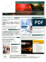 Bulletin d'annonces N°91 Semaine du 4-11 janvier 2014