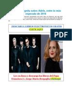 U2_y_la_incógnita_sobre_Adele_entre_lo_más_esperado_de_2014