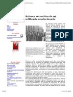 Balance Autocritico de Mi Militancia Revolucionaria_Aguilo