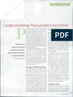 3. Understanding Procurement Activities