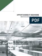 Opportunisme et hédonisme Rem Koolhaas et la technique Mémoire R9 Achille  Racine.pdf