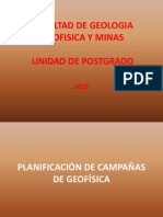 Facultad de Geologia Geofisica y Minas