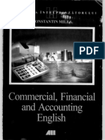 Milea,Constantin-Commercial, financial and accounting english
