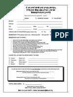 Washington Blues Society Membership Form