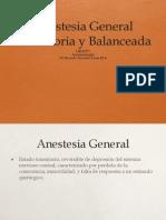 Anestesia Inha