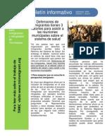 TIRRC Newsletter Sept 2009 Spanish