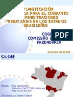 Brasil - Sandra Olimpio - PRESENTACIÓN BRASIL COGEF (EN ESPAÑOL)  SEMINARIO PLANIFICACIÓN