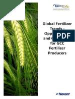 Global Fertilizer Trends - Opportunities and Challenges for GCC Fertilizer Produccers