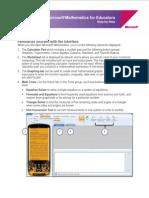 Microsoft Mathmatics Step-By-step Guide
