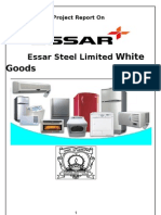 Essar White Goods Analysis