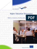 Strategic Policies for Higher Education
