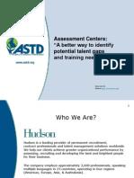 Talent Management Assessment Center Best Practices Webinar