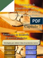 Tema 7 Estrategias de Desarrollo de Nuevos Productos y El Ciclo de Vida